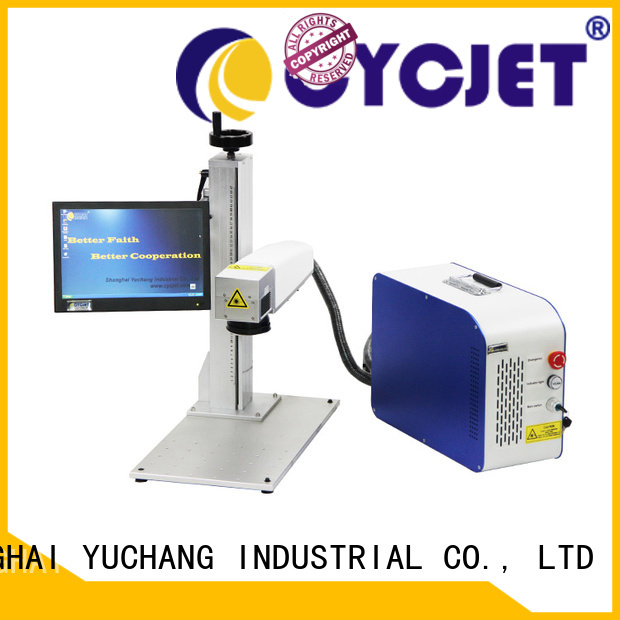 cycjet New handheld laser marker factory for wood