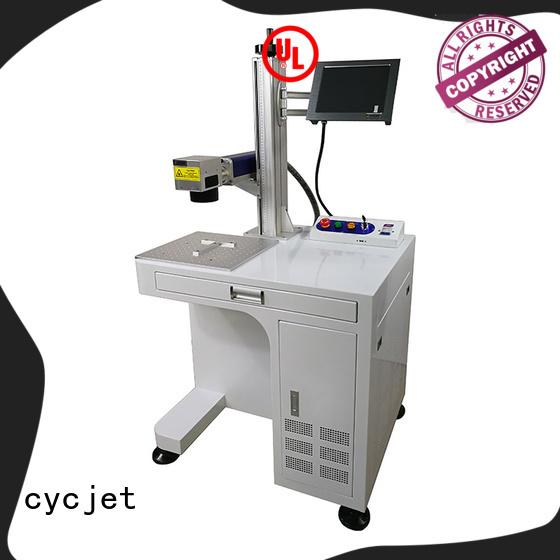 cycjet lu05 metal marking machine for business for plastic film