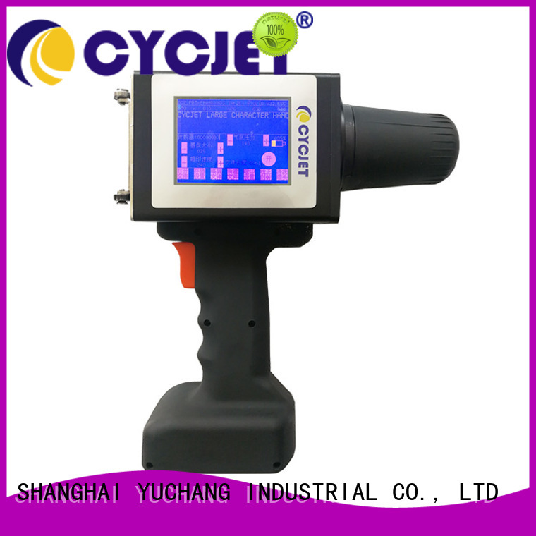 cycjet hand industrial label printer Supply for plastic pipe