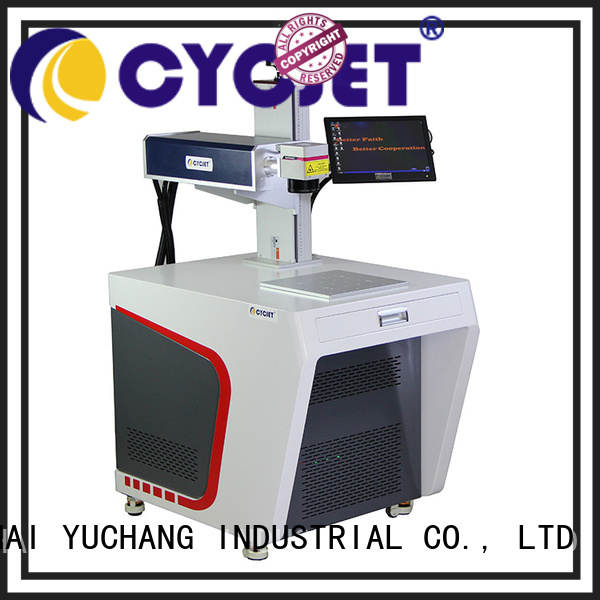 touch screen laser coding machine bulk production for plastic label
