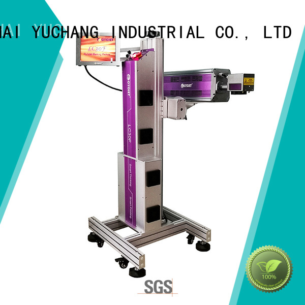 cycjet professional flying laser marking machine industry for electric cable