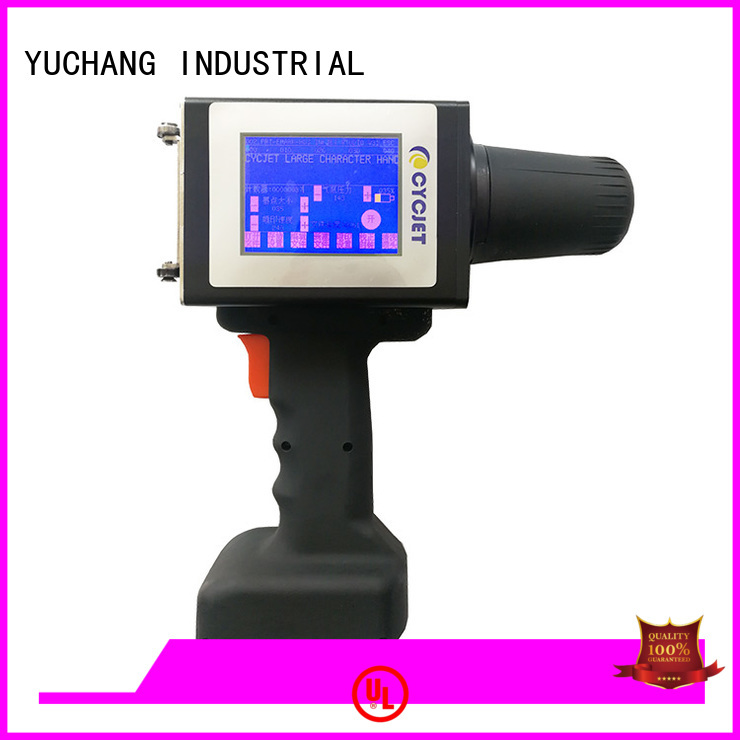 cycjet Top industrial label printer Supply for plastic pipe