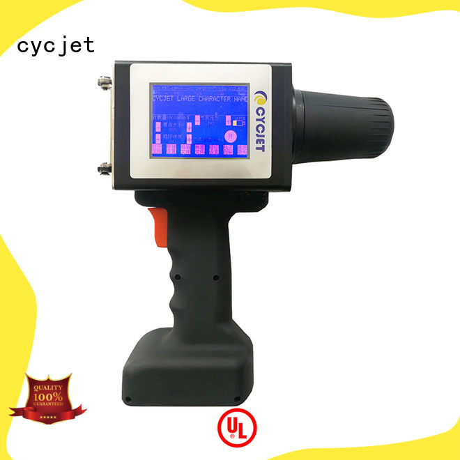 cycjet large large character inkjet printer factory for plastic pipe
