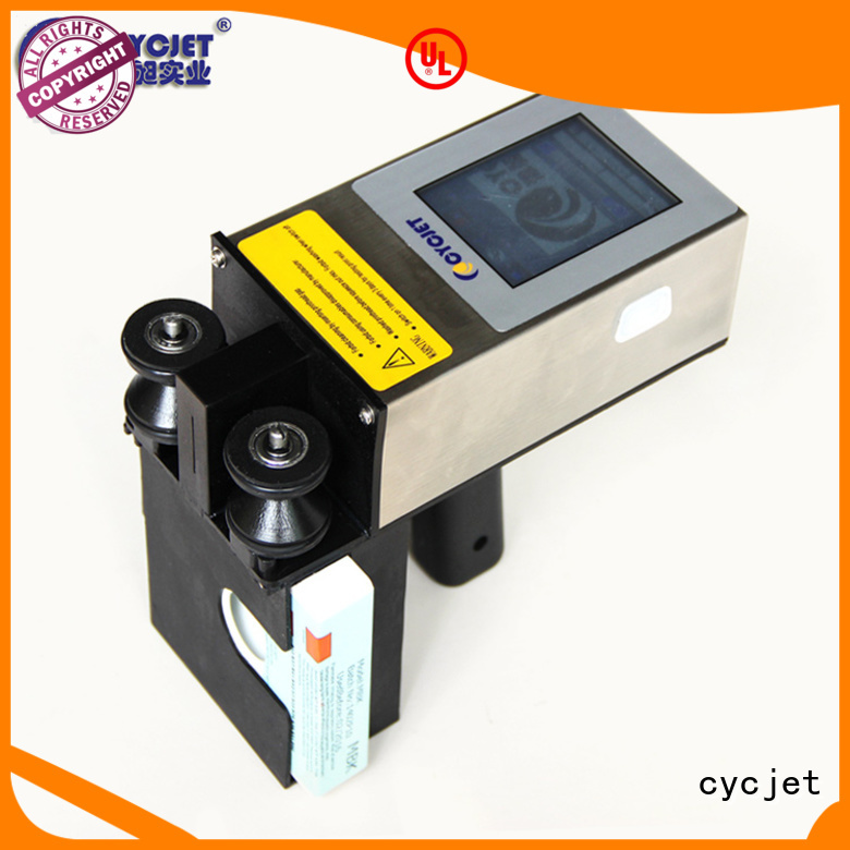 cycjet laser marking equipment manufacturer for electric cable
