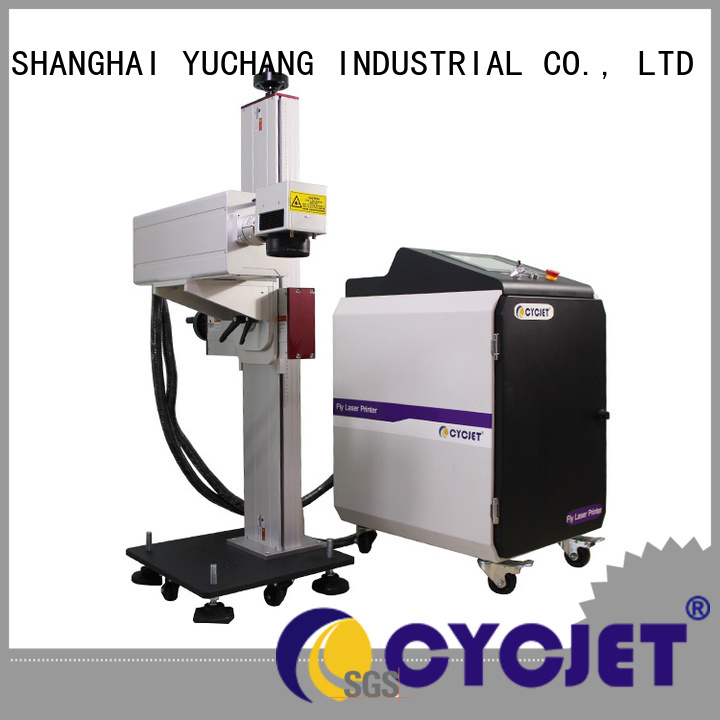 cycjet Custom laser marking stainless steel factory for food package
