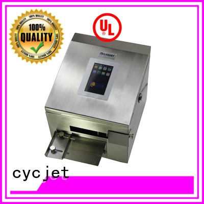cycjet high-Resolution Inkjet Coder supplier for plastic film