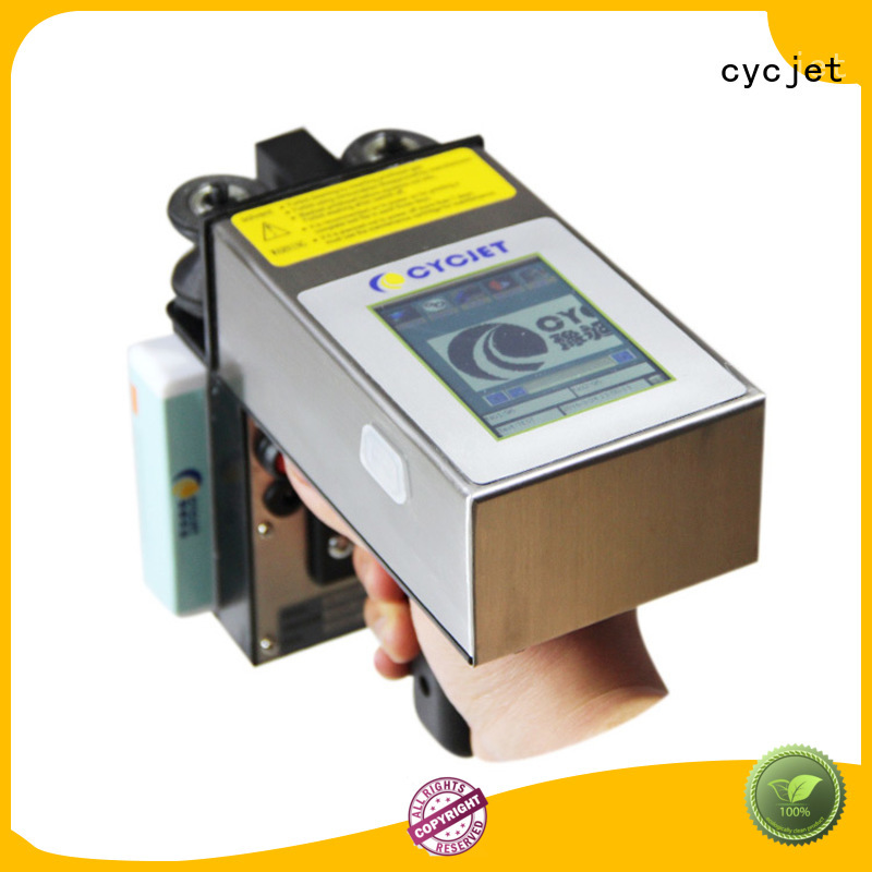Custom handheld inkjet printer ch7 manufacturers for jewelry