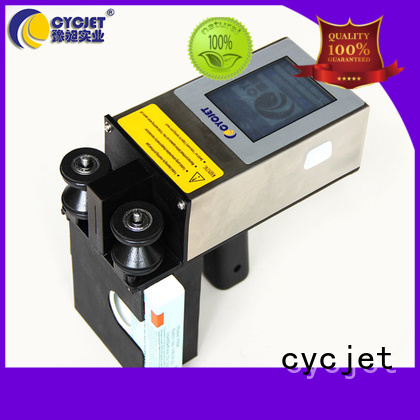 cycjet laser marking equipment bulk production for electric cable