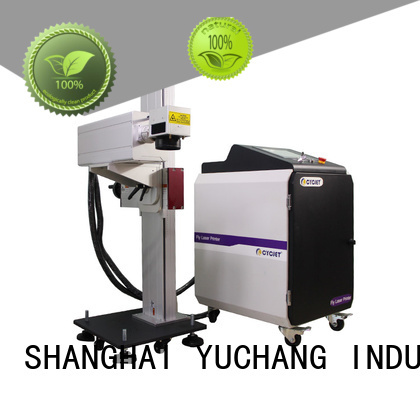 cycjet model flying laser marking machine factory for electric cable