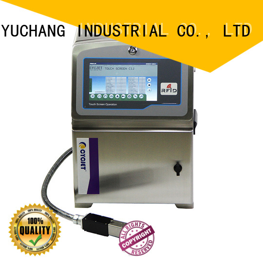 cycjet ink system small character inkjet printer at discount for pipes