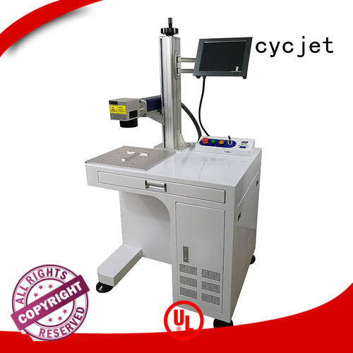 cycjet 30w Laser Coding Machinery for business for carton package