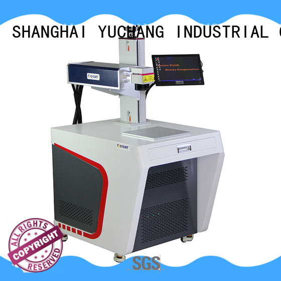 New metal marking machine fiber for business for carton package