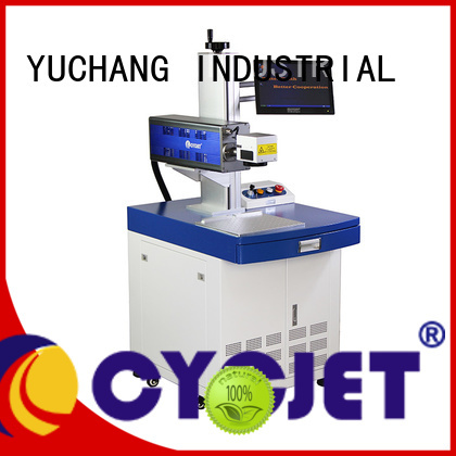 cycjet desktop laser coding machine for business for plastic label