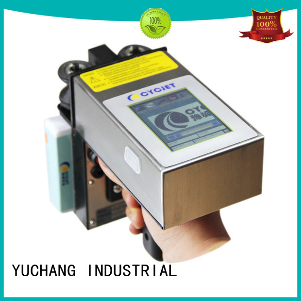 cycjet screen handheld inkjet printer wholesale for plastic tags
