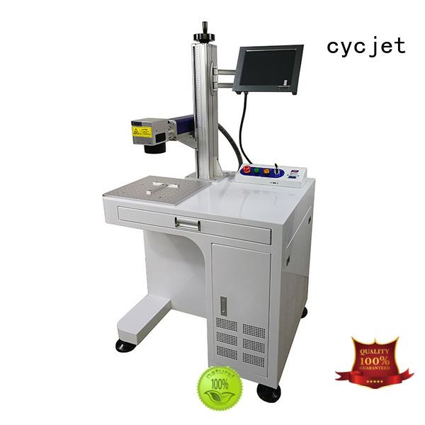 cycjet single handle laser coding machine manufacturer for plastic label