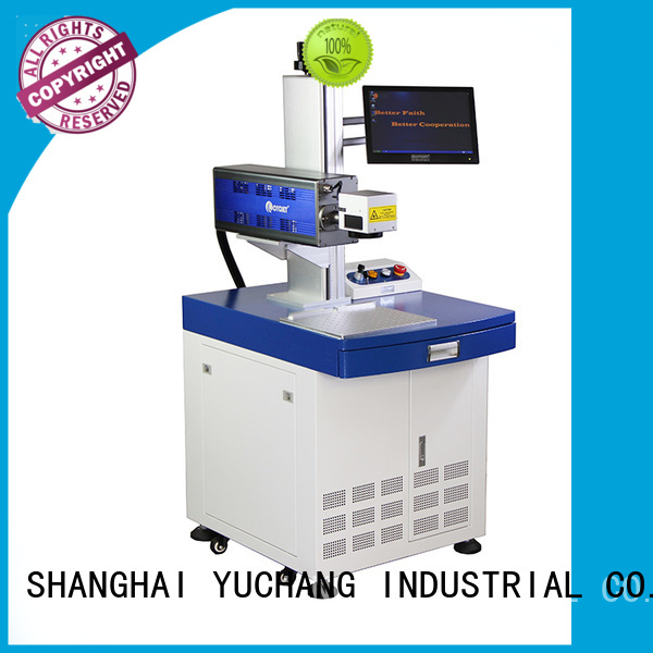 touch screen laser coding machine industry for carboard package