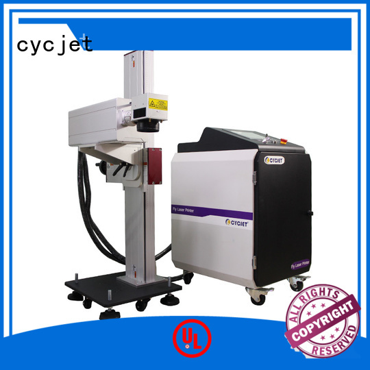 cycjet lf30f flying laser marking machine for business for electric cable