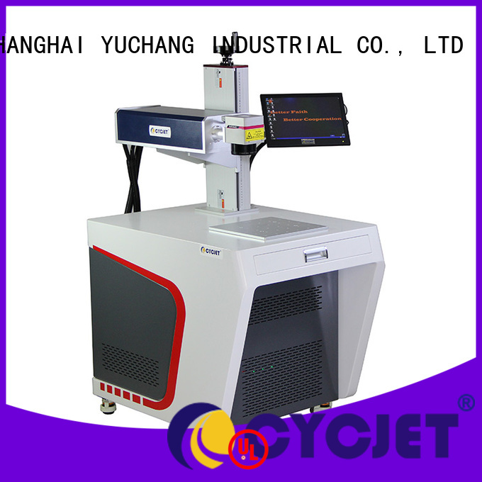 cycjet Custom Laser Coding Machinery for carboard package