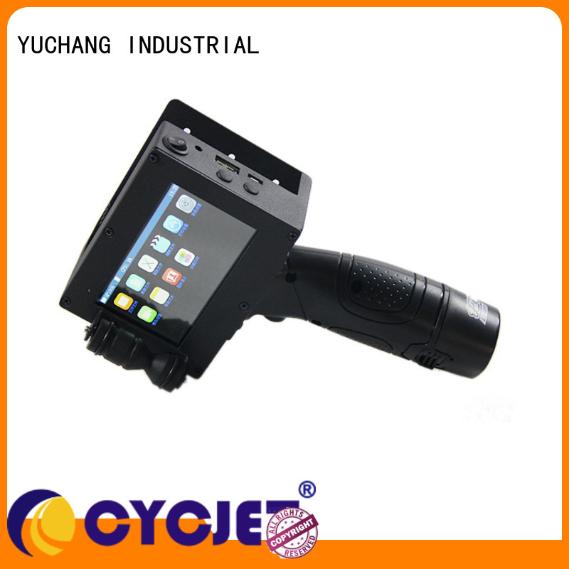 telescopic arm high-Resolution Inkjet Coder supplier for plastic film