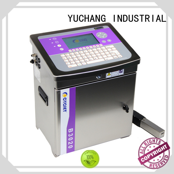 cycjet high quality small character inkjet printer manufacturer for beer