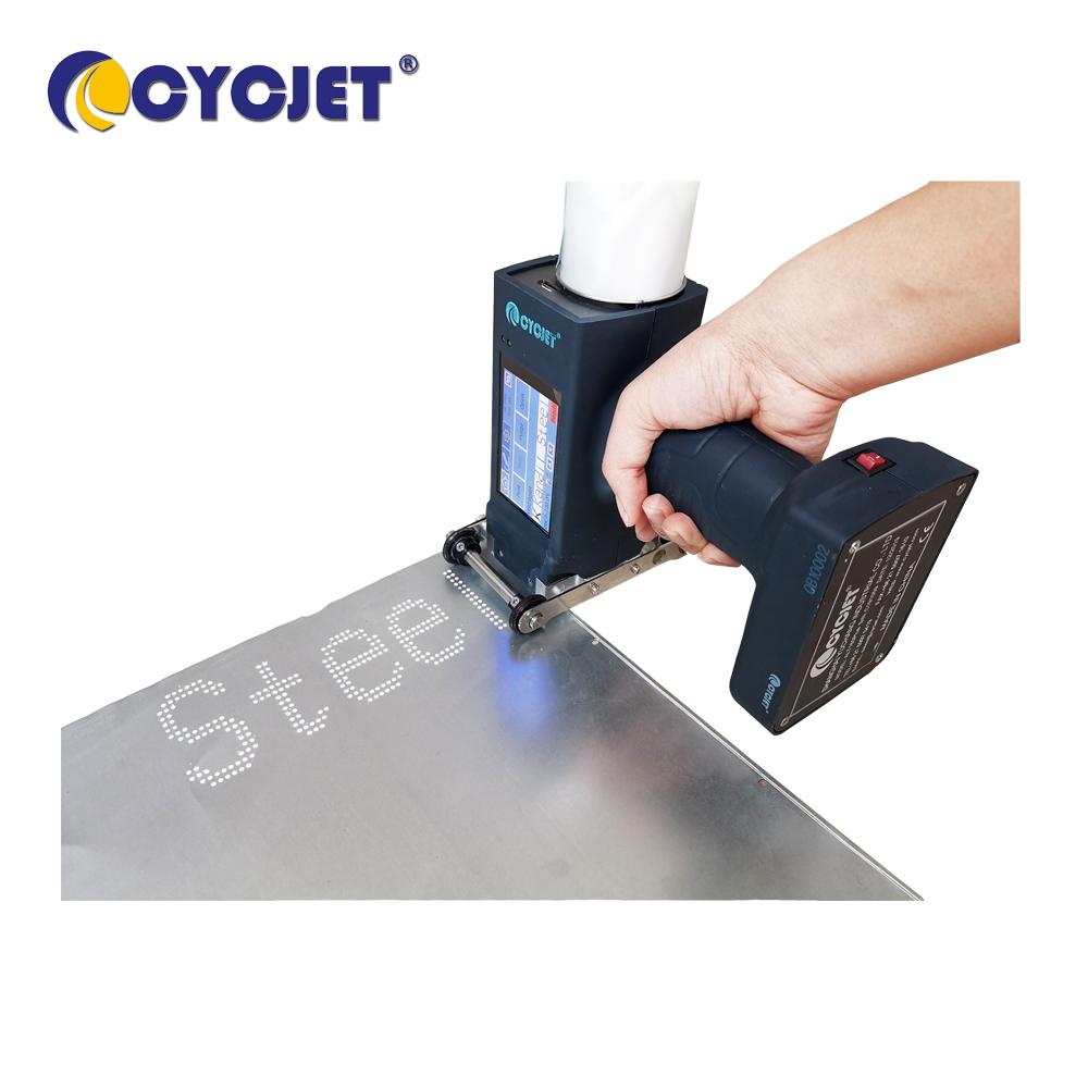 Large Character Inkjet Printer Steel Sheet Printing CYCJET ALT160Plus