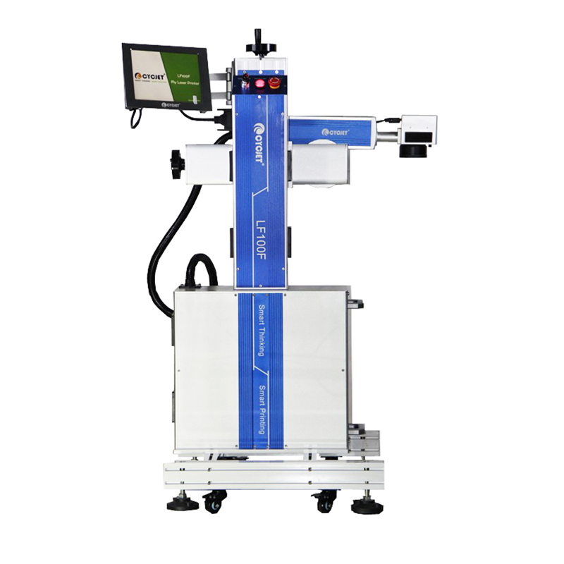 CYCJET LF100F High Speed Flying Laser Marking Machine 100W