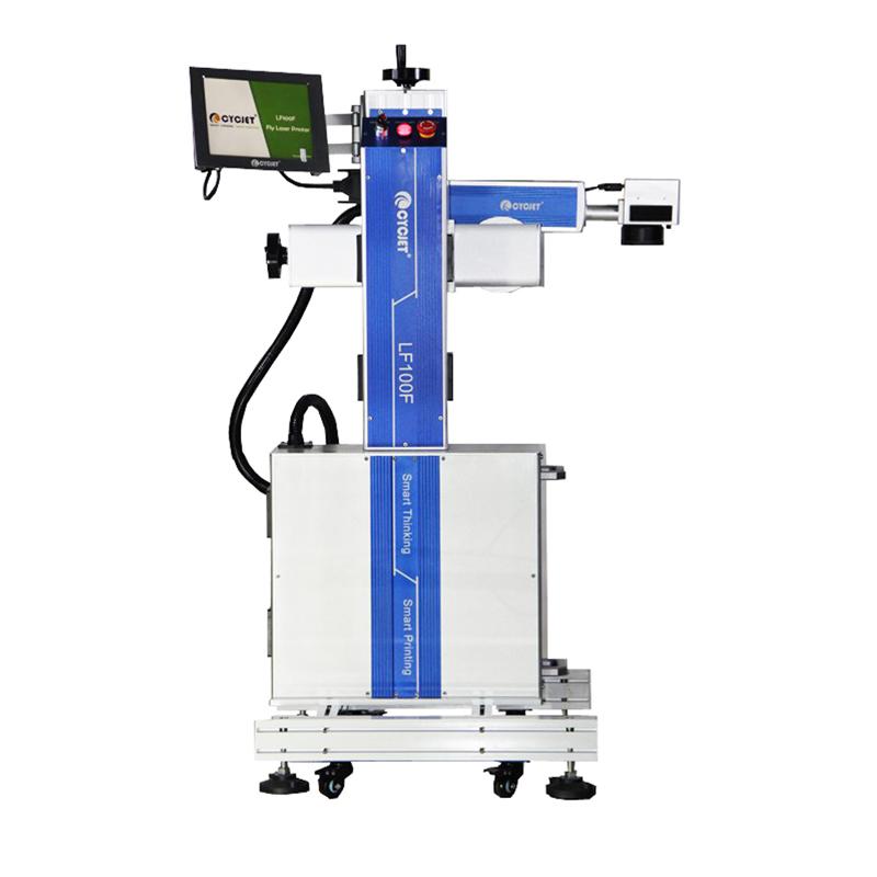 CYCJET LF100F High Speed Flying Laser Marking Machine 100W
