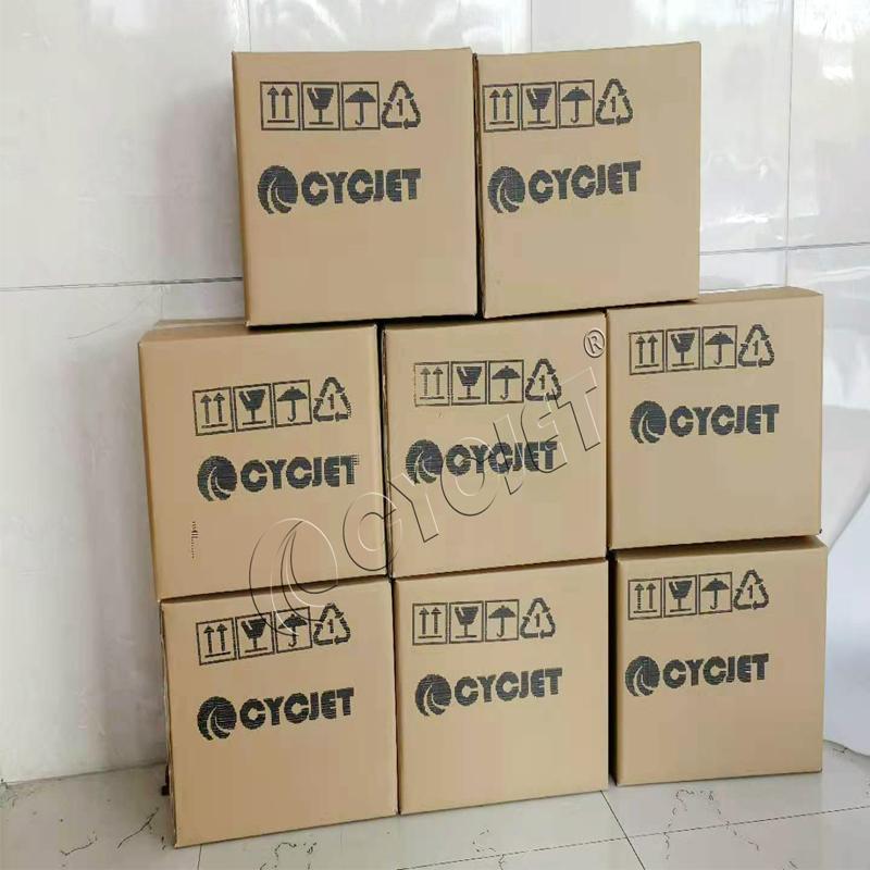 How to Print Shipping Mark on Carton by CYCJET ALT160 DOD Handheld Inkjet Printer Portable Handjet