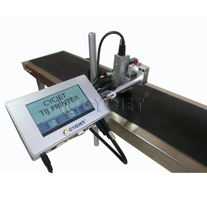 The Operation of CYCJET Smart II HP Series Inkjet Printer for Production and Expiry Date Printing