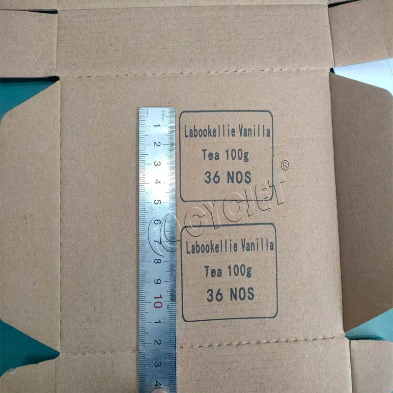 How to Print Letter and Number on Cardboard by CYCJET Smart I-2L Portable Handheld Inkjet Printer