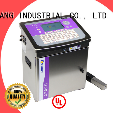 cycjet screen controller small character inkjet printer bulk production for beer