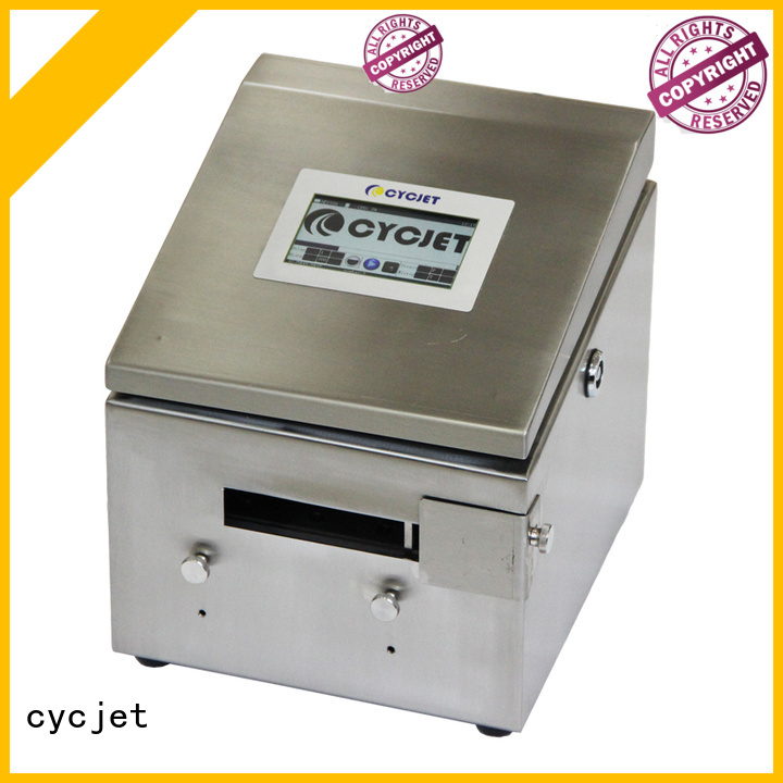 cycjet automatic tij automatic printer company for plastic pipe