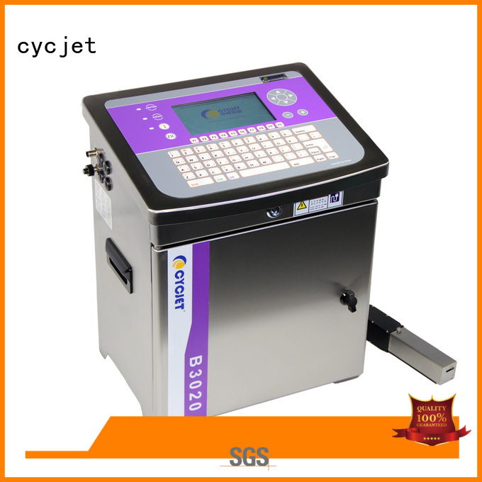 cycjet color small character inkjet printer at discount for cables