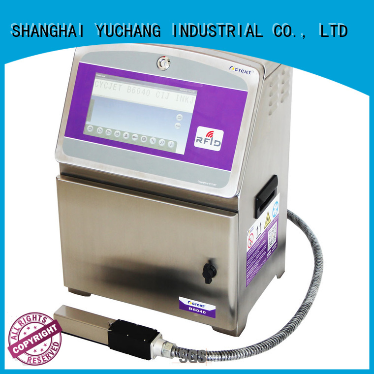 ink system small character inkjet printer screen bulk production for wine