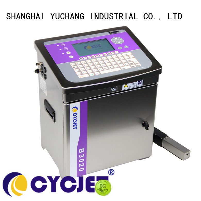 cycjet model small character inkjet printer at discount for cables