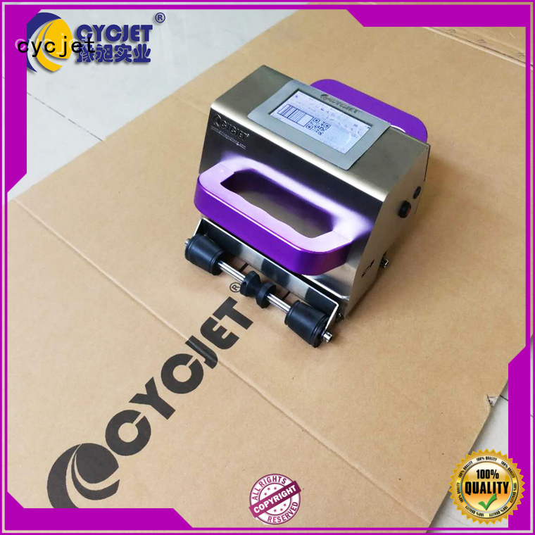 cycjet latest portable inkjet printer wholesale for jewelry