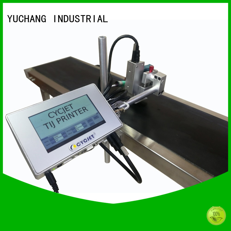 Top flying laser marking machine tij Suppliers for plastic pipe