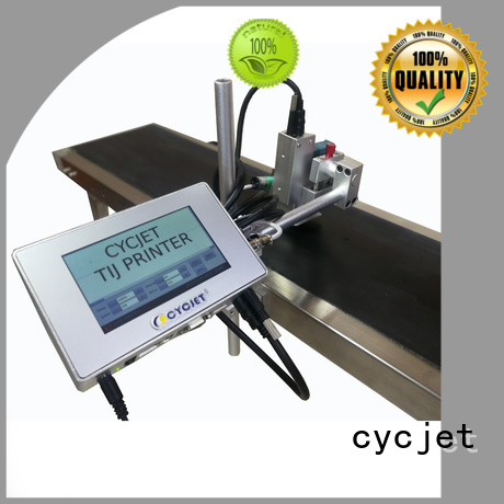 cycjet High-quality flying laser marking machine for business for electric cable