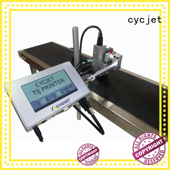 cycjet Latest tij printer for plastic pipe