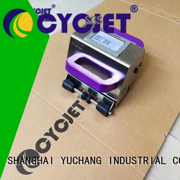 cycjet handheld inkjet printer factory for jewelry