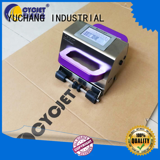 cycjet Latest portable inkjet printer manufacturers for stainless steel