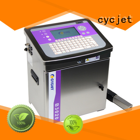 cycjet screen controller small character inkjet printer at discount for oil