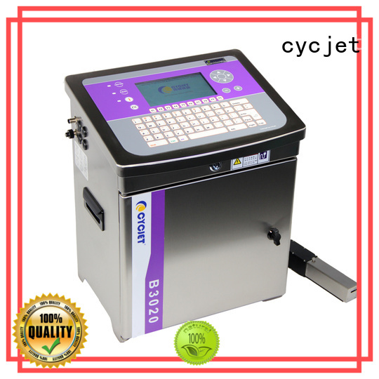 cycjet screen controller small character inkjet printer manufacturer for food