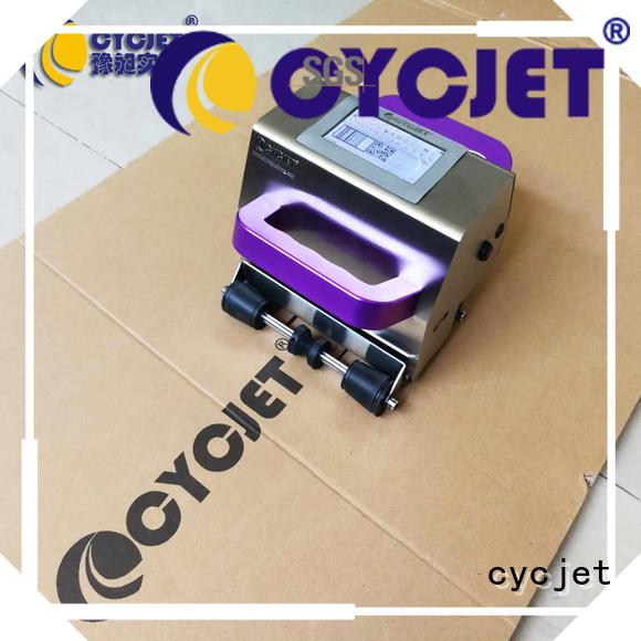 cycjet jet portable inkjet printer for jewelry