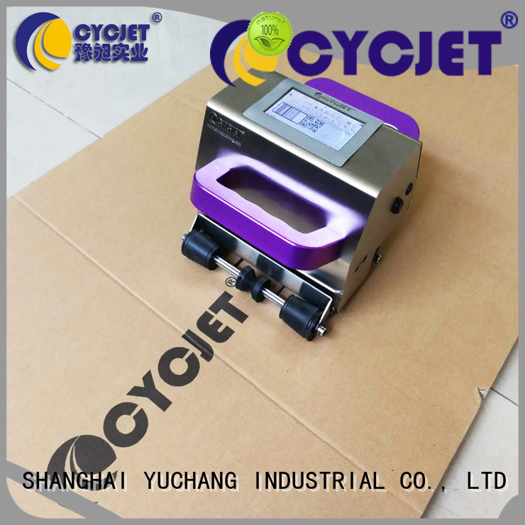 cycjet handheld portable inkjet printer Supply for jewelry