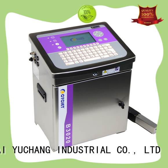 cycjet screen small character inkjet printer industry for wine