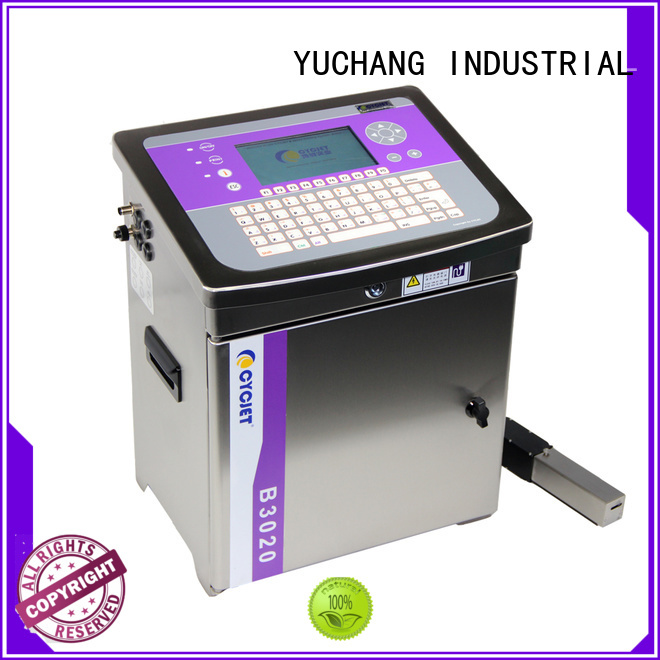 cycjet small character inkjet printer bulk production for beer