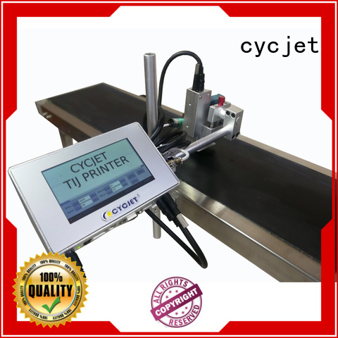 cycjet printing inkjet coding machines for cartons