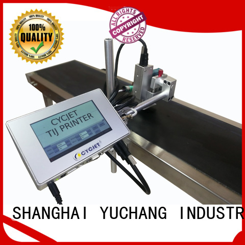 cycjet inkjet coding machines industry for large character printing