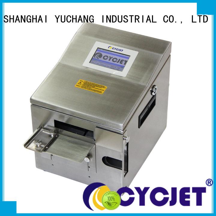 Wholesale inkjet marking systems desktop for plastic film